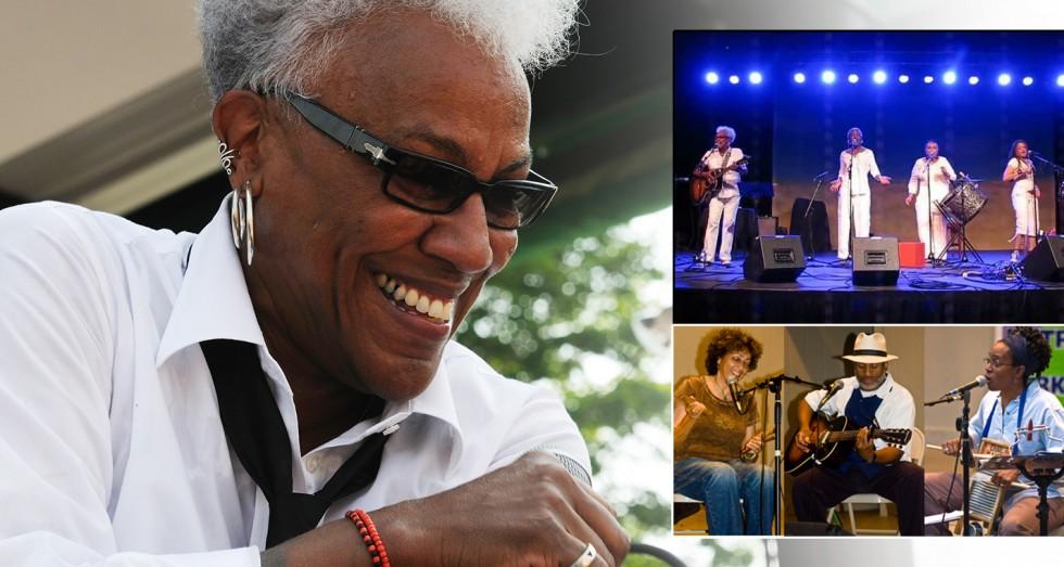 Gaye Adegbalola and the Wild Rutz & MSG-Acoustic Blues Trio